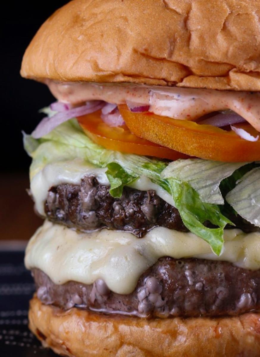 Hamburguer do B de Burger Ipanema