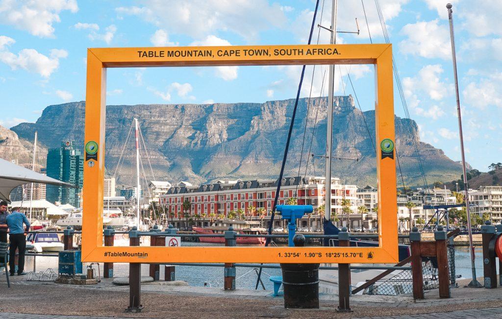 Cartão Postal de Cape Town