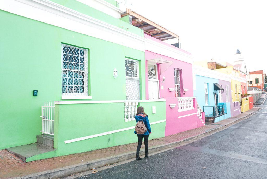 Bo-Kaap o famoso bairro com as casinhas coloridas de Caple Town
