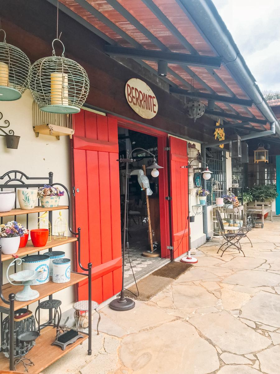 loja de decoração rústica