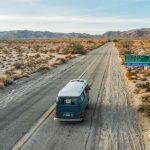 Como é viajar de KOMBI pela Califórnia