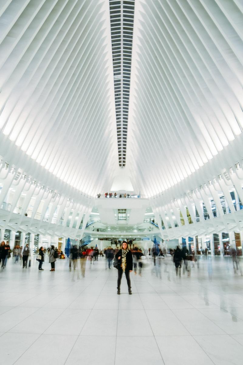 Oculus, projeto do arquiteto Calatrava