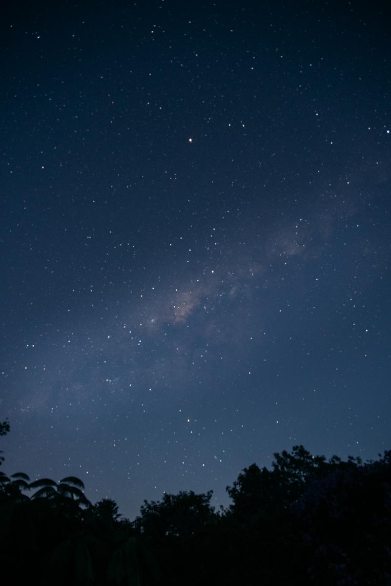 céu estrelado no cerrado