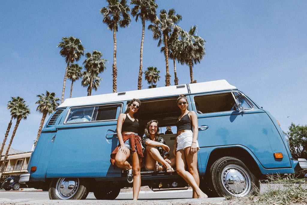 Kombi em Palm Springs