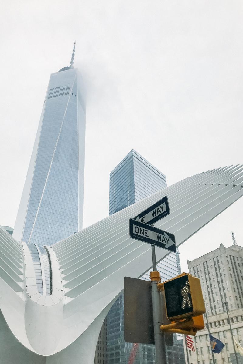 Lower Manhattan: WTC e One World ao fundo
