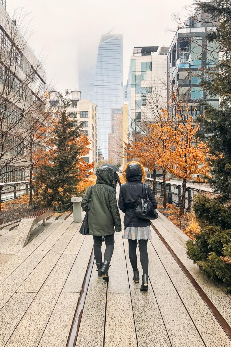Caminhada pelo Highline