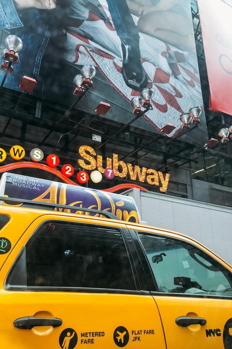 Metrô é a melhor maneira de se locomover em NYC