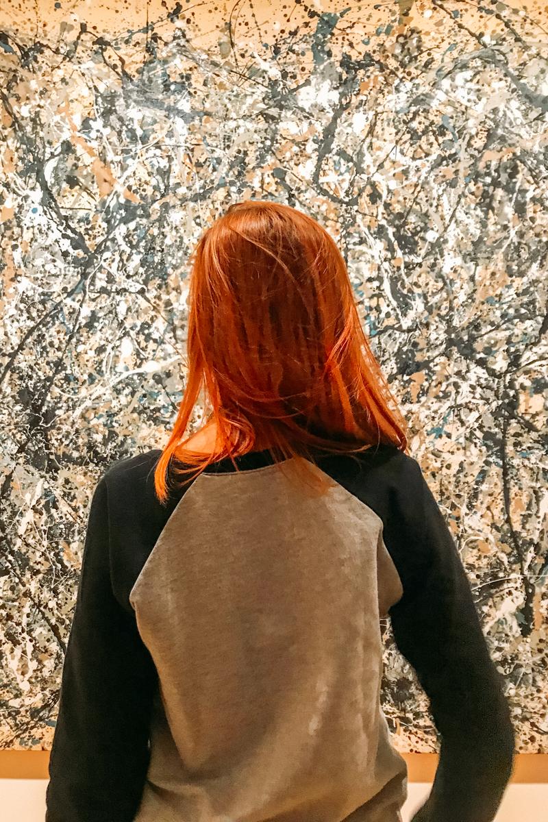 Pollock no MoMA
