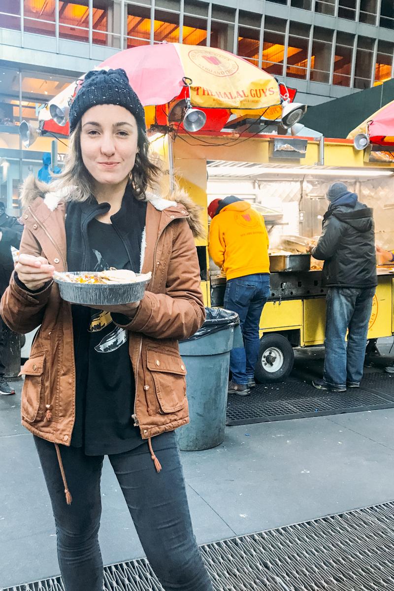 Dica de street food em NYC: Halal Guys