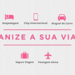 Organize a sua viagem!