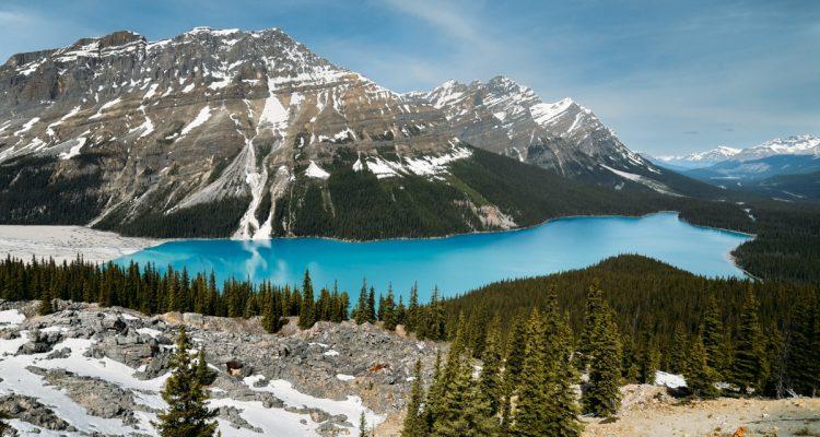 lagos imperdíveis nas rochosas canadenses