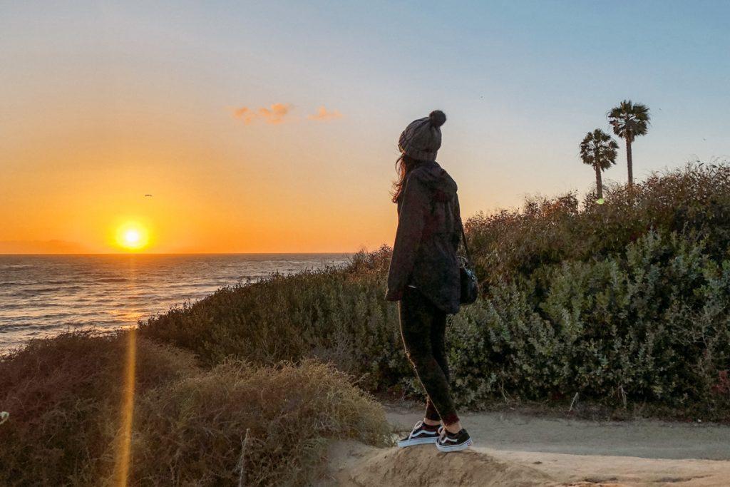 pôr do sol sunset cliffs