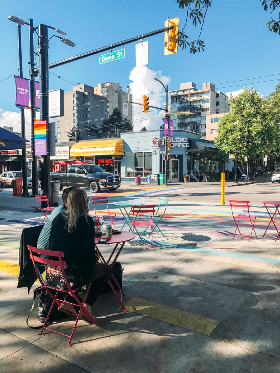 Davie St. Vancouver