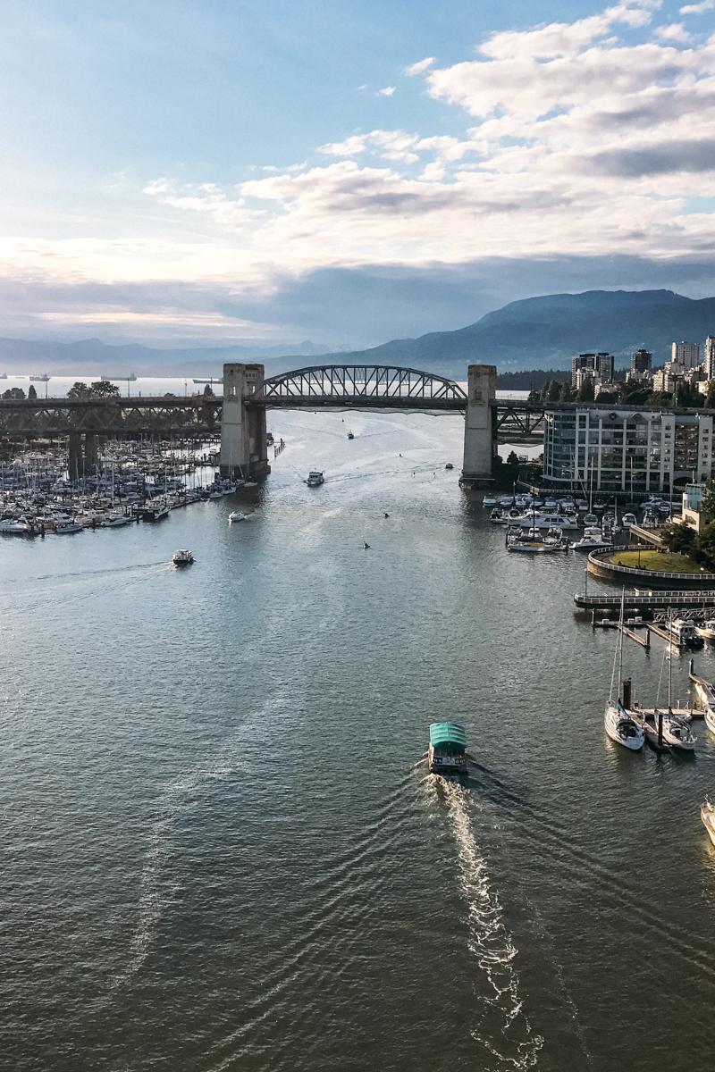 Burrard Bridge em Vancouver