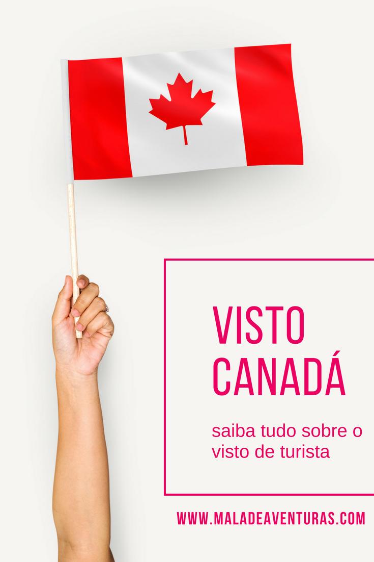 Passo a passo visto Canadá