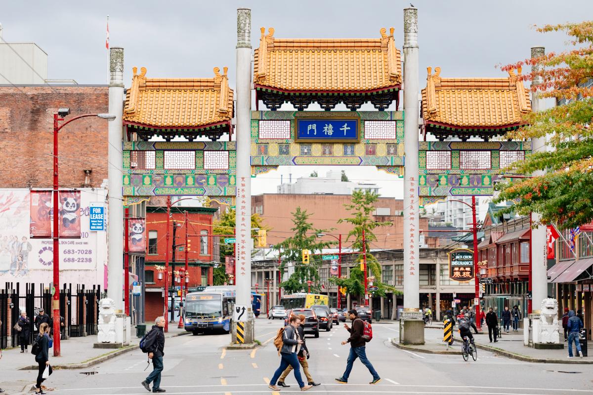 Chinatown Millennium Gate Landscape