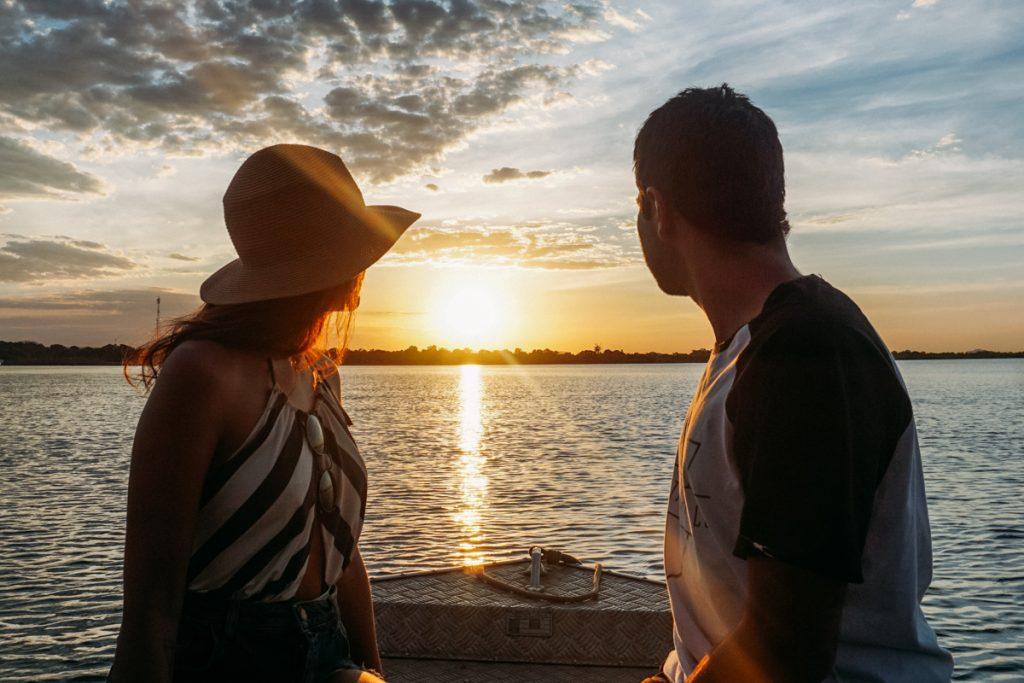 pôr do sol rio tocantins