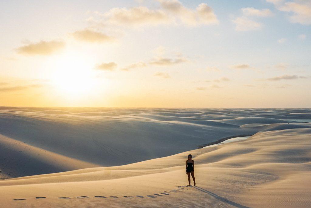 pôr do sol lençois maranheses