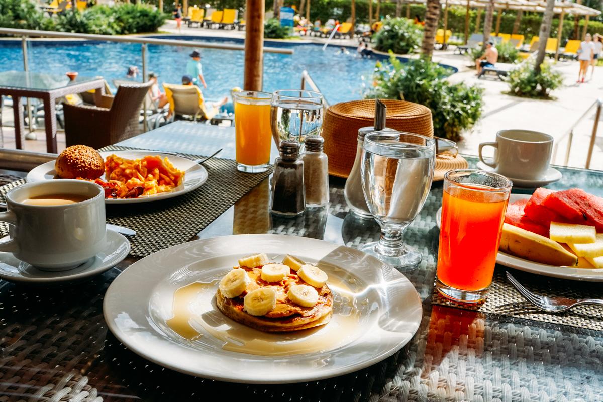 Café da manhã Barvaro Bavaro Palace