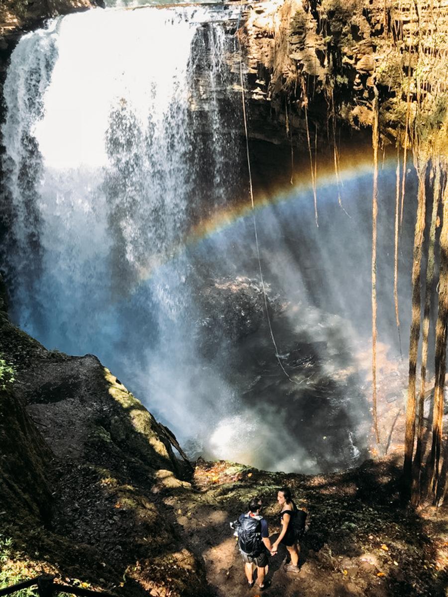 Cachoeira do Funil, Mambaí