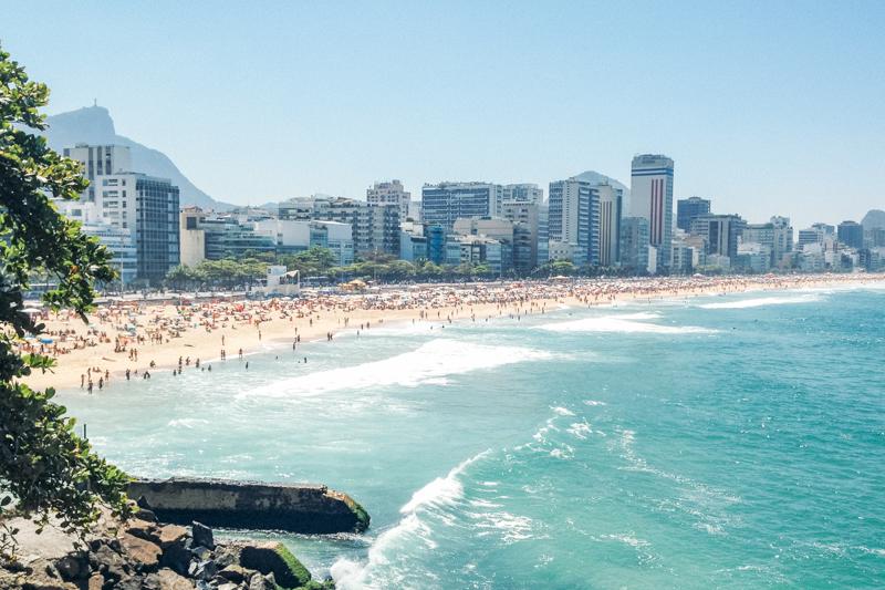 Pra do Leblon uma das melhores praias do Rio de janeiro