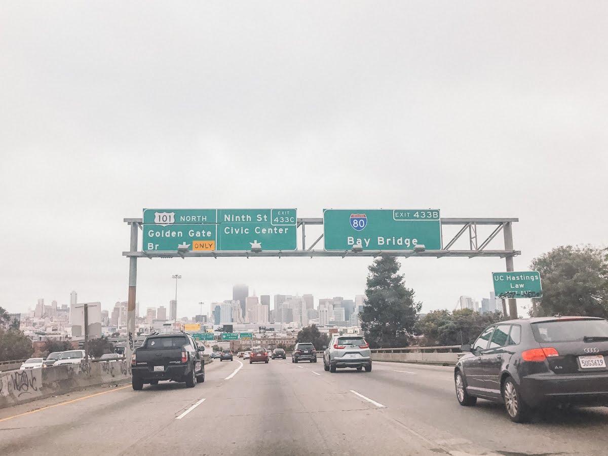 estradas de São Francisco