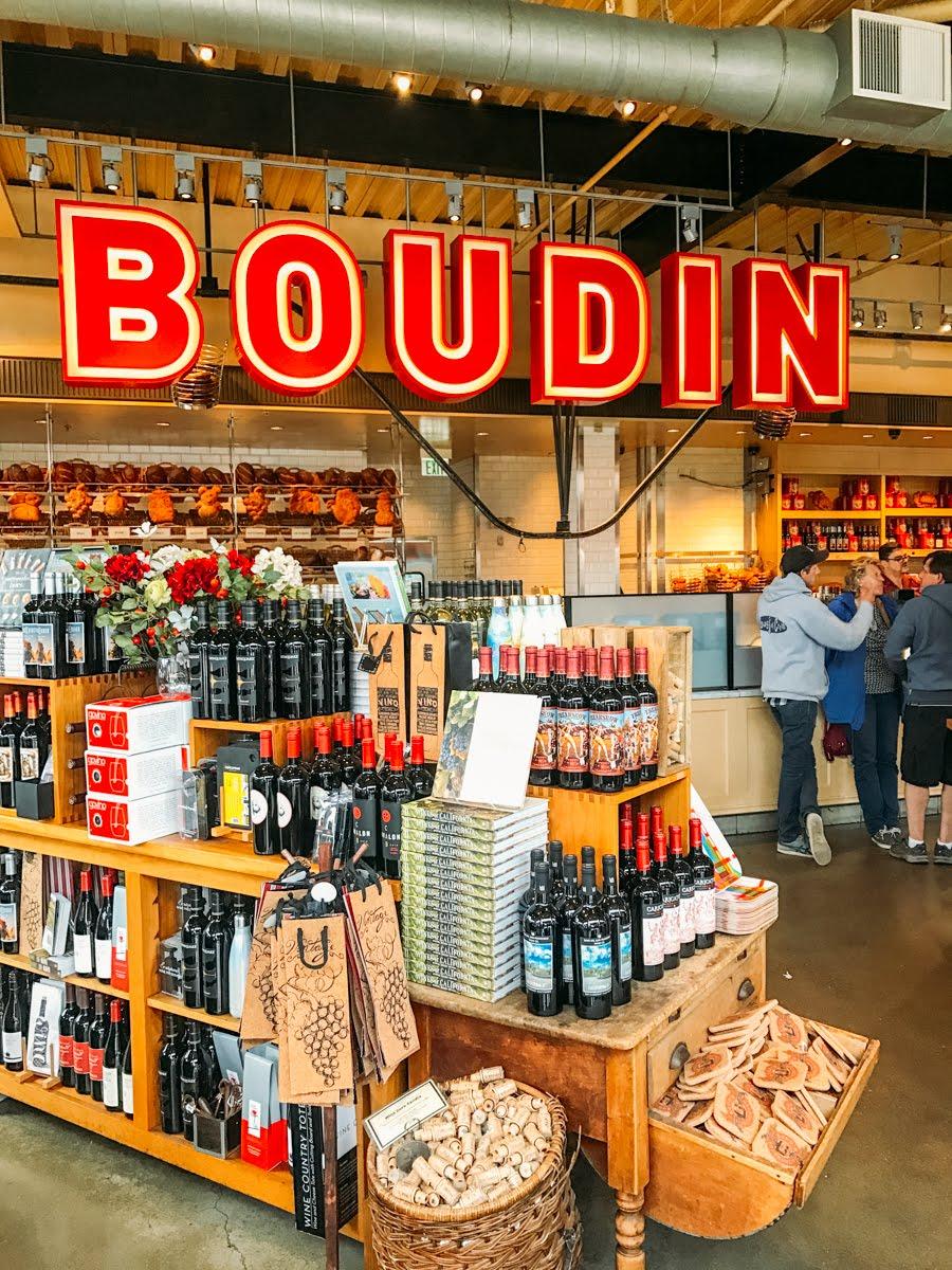 Boudin Bakery em São Francisco, na Califórnia