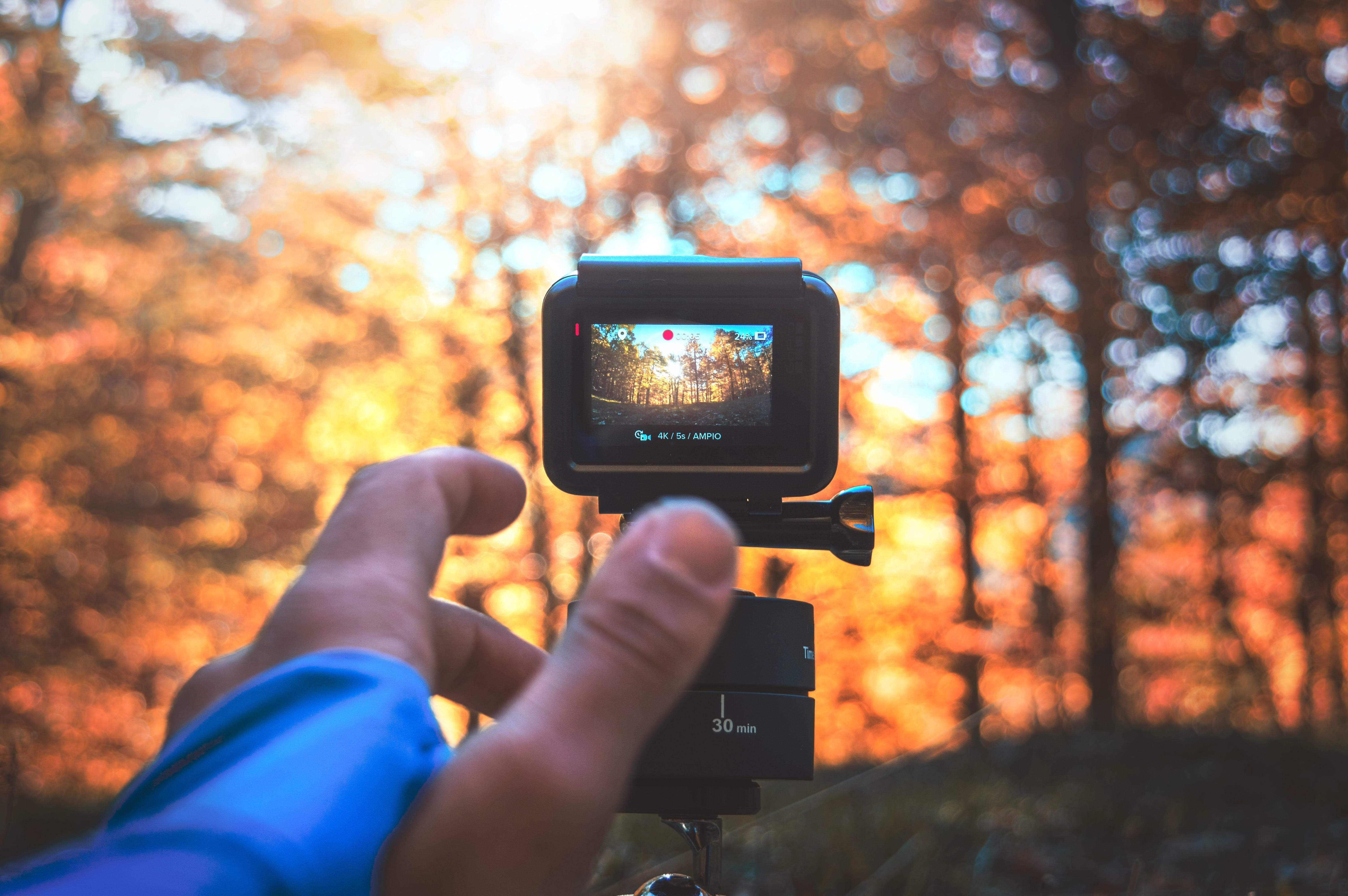Tela touchscreen da GoPro