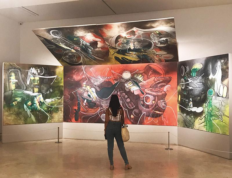 Exposição do museu Thyssen-Bornemisza em Madrid