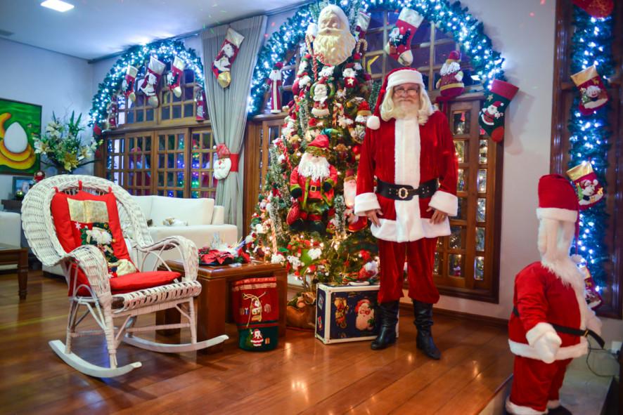 Natal Imperial: Casa do Papai Noel