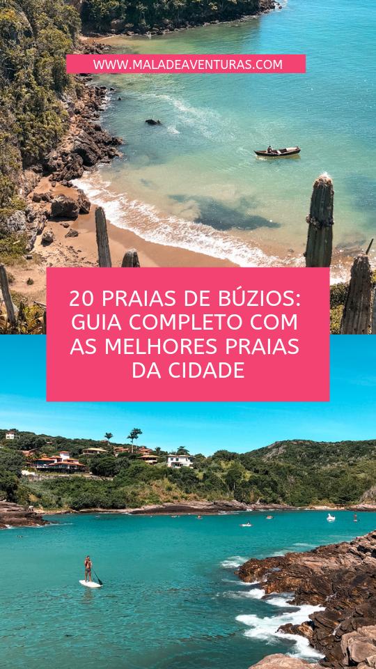 20 praias búzios