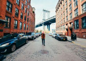 Ruas do DUMBO em Nova York