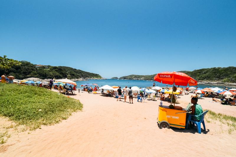 Praia do Forno, Búzios