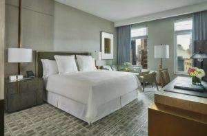 quarto do Four Seasons Hotel New York Downtown