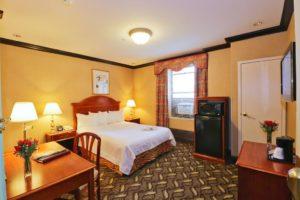 Quarto do Hotel Newton