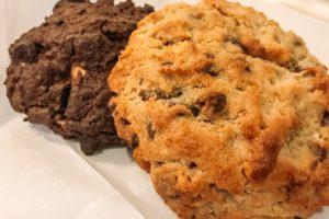 Dois Cookies da Levain Bakery