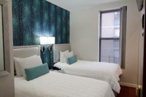 Quarto do Belnord Hotel em Nova York