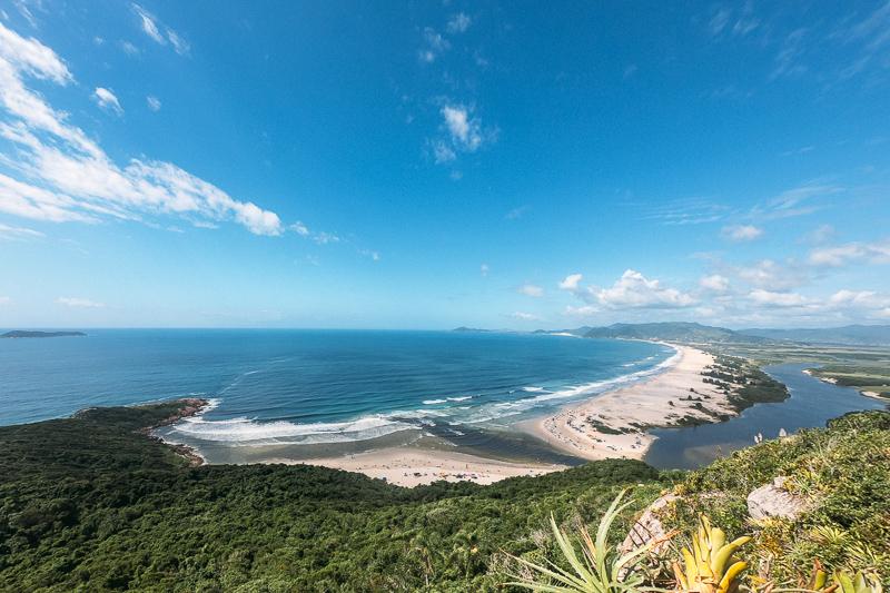 Encontro do Rio da Madre com a Praia da Guarda do Embaú