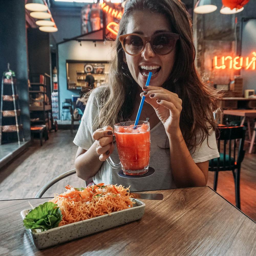 Restaurante em Bangkok