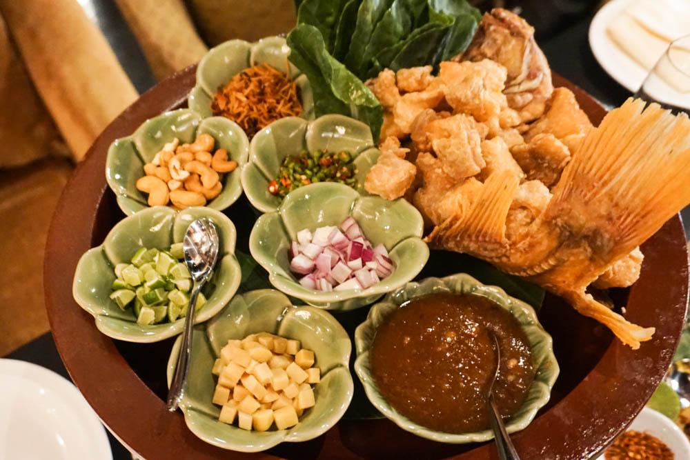 prato principal restaurante salathip