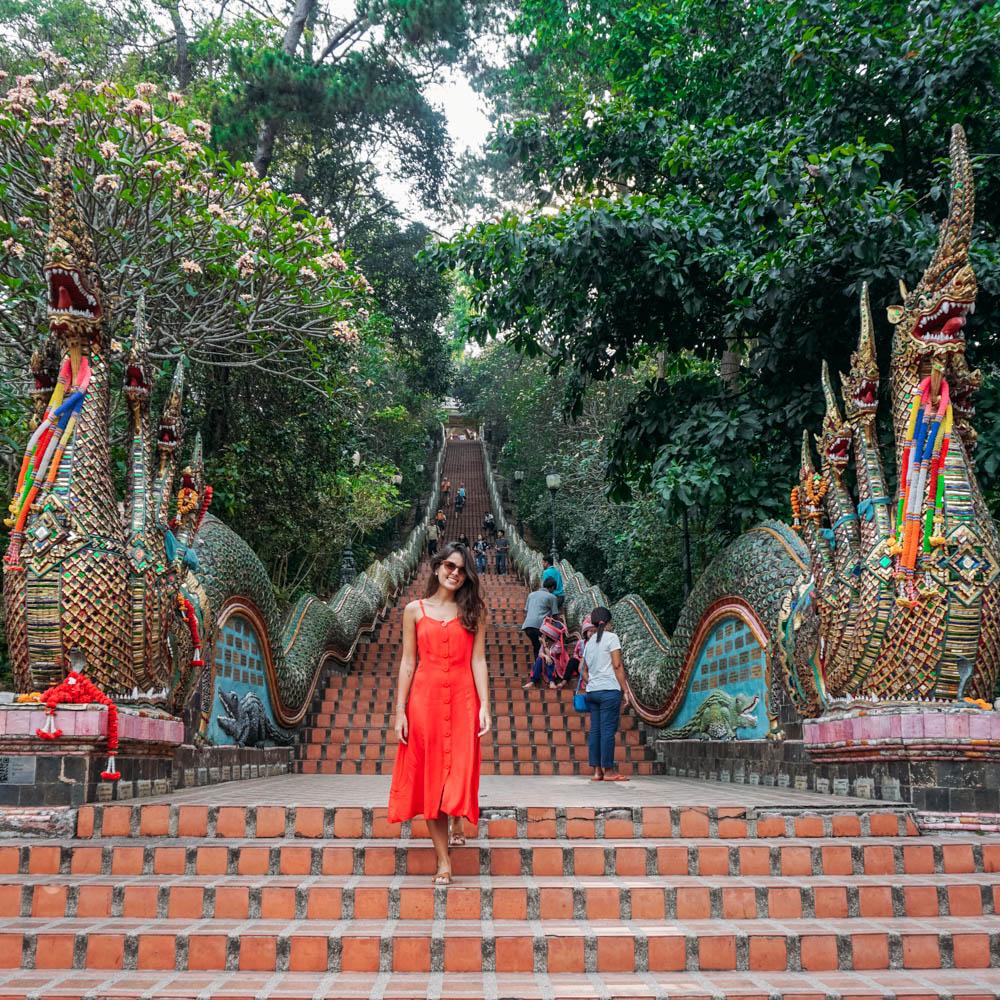 Templo em Chiang Mai
