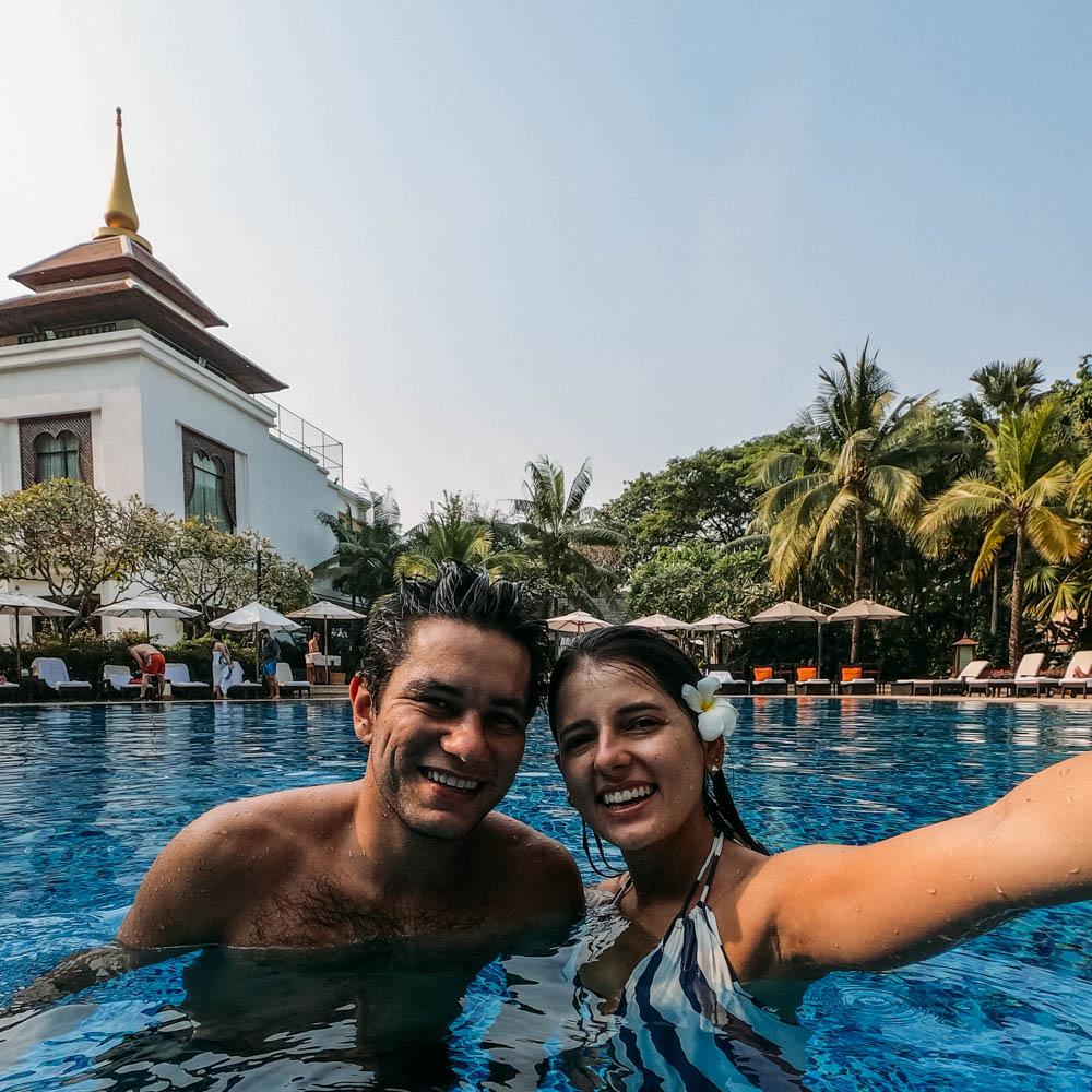 piscina Shangri-la Chiang Mai