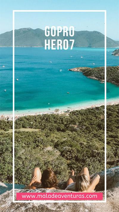 Novidades GoPro Hero 7: imagens mais estáveis e transmissão ao vivo para redes sociais