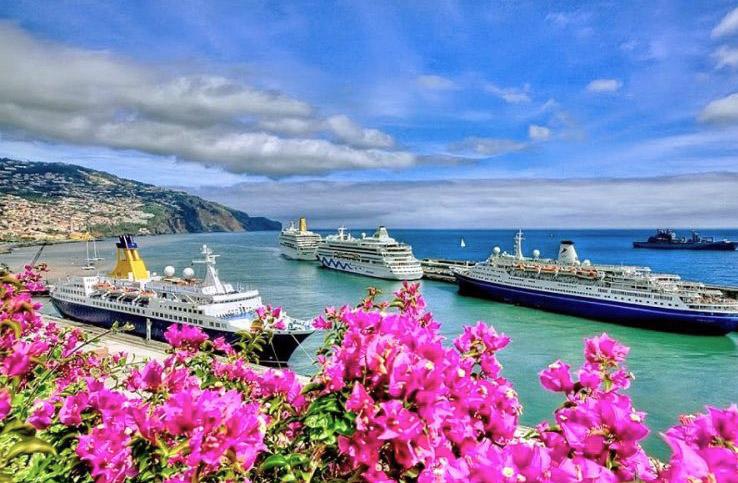 Vista da Ilha da Madeira