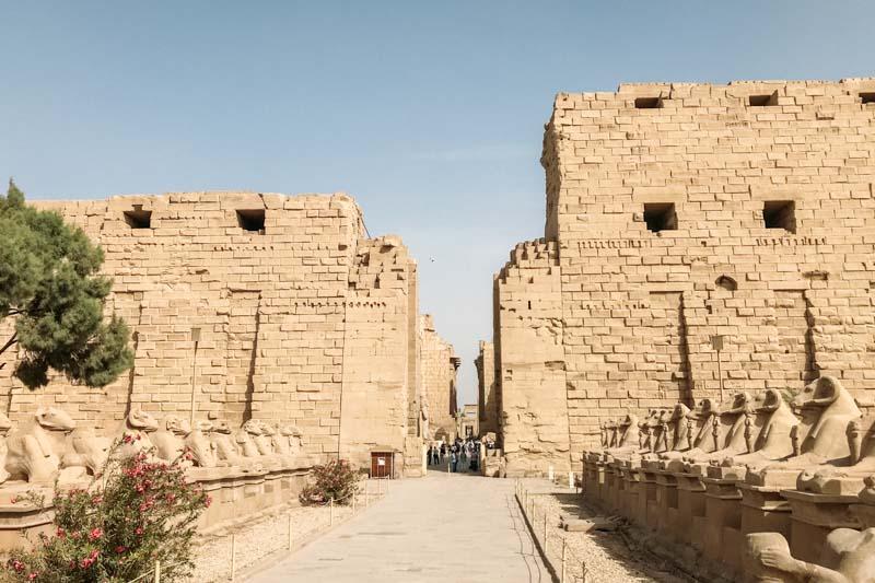 Complexo de Templos Karnak, em Luxor