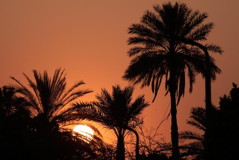 melhor epoca para visitar o Egito