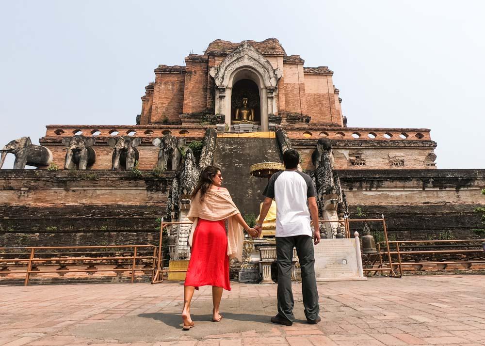 templo chedi luang em chaing mai