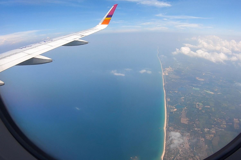 vôo interno tailândia