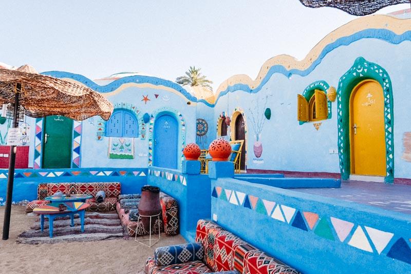 Nubian Village, em Aswan