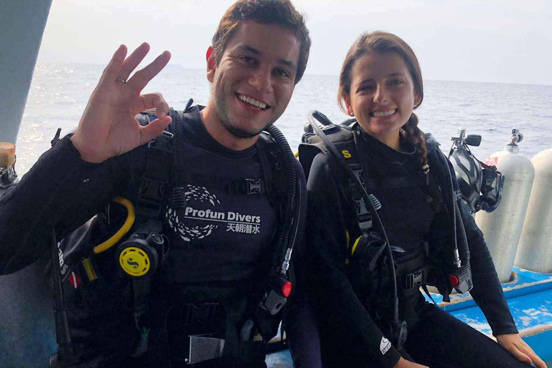 mergulho profun divers na tailandia